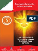 Modulo 5 Experienciaq de Profundizacion Butismo en El Espiritu