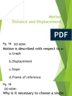 Motion Notes Ppt Student Key