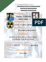 Patologías de La Columna Lumbar
