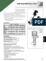 Asco Series 290 Angle Body Catalog