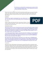 Contoh Review Text dan Terjemahan