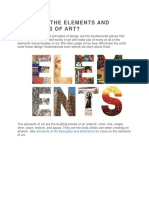 What Are the Elements and Principles of Art