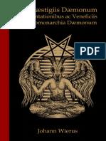 Deguste o Livro de Praestigiis Daemonum