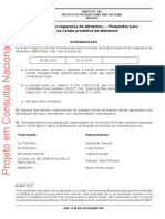 NBR ISO 22000 2019 Gestao Segur Alimentos Draft