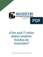 Analizar y Comparar Fondos de Inversión