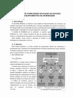 Modelo de Fiabilidade Aplicado Ao Estudo de Equipamentos de Bobinagem
