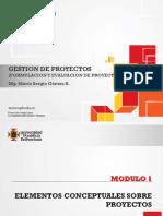 Gestion de Proyectos - Modulo 1 - Mario Sergio Gomez R