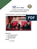 Monografia de Corrupcion - Economia