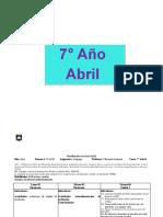 PLANIF 7°  marzo -abril 2019 unidad1