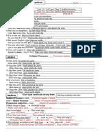 Object Pronouns- Folha 1- Professor
