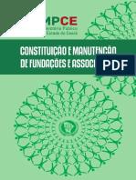 Constituição e Manutenção de Fundações e Associações