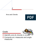 12-2 Arcs and Chords