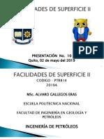 2019b Facilidades II, (10) Diseño Separadores