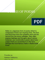 Forms of Poems (1)