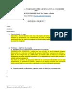 Atividade 1 - Delimitações Do Projeto de Pesquisa