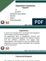 Organizations Introduction