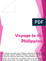 Voyage to the Philippines