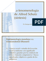 La FenomenologSchutz