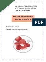 Diagnostico de Anemia Hemolitica