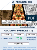 5°  HP - CULTURAS PREINCAS II- 5TO AÑO_