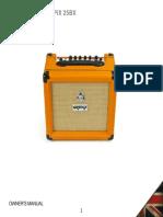 Manual orange bass