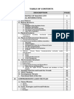 Volume 1-The Comprehensive Land Use Plan-Table of Contents