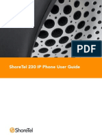 ShoreTel 6.1 IP230 User Guide