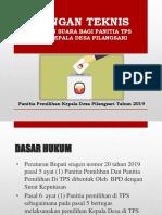 Bintek Panitia Tps