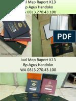 WA 0813.270.43.100, Jual Sampul Raport Kurikulum K13 di Lotu Sumatra Utara