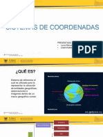 Sistema de Cordenadas.