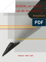 Monografía de Axiología