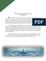 Sablayan Water District Development Plan