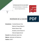 Informe 1 Inversion de La Sacarosa Terminado