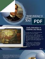 Rizal's Education