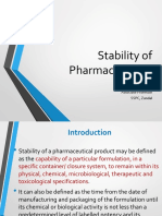 Stability of Pharmaceuticals-1