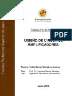 Diseño de circuitos amplificadores