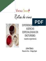 Rutas de Vino PORTUGAL Estudio