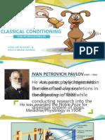 Pavlov's Classical Conditioning