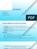 Chapter 2 Writing Effective