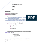 Lista Java Vetor