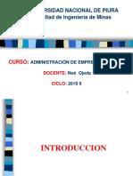 Administración de Empresas 2019 II