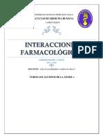 Seminario i Interacciones Farmacologicas
