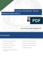 Servicios del sistema - Estructuras de diseño