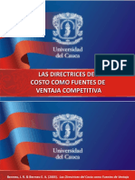 DIRECTRICES DEL COSTO.ppt