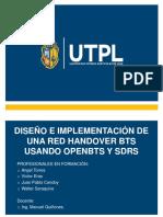 Handover con openBTS