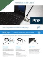Dell Kensington Sales Sheet Cheat Sheet v6 1 Low