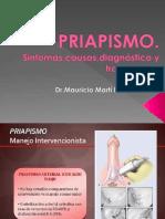 Priapismo.Dr.Mauricio Martí Brenes.
