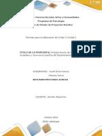 Formato Unidad 2_Fase 3 Propuesta Social_ GC_116 Delvis