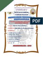 derecho penal -Perú