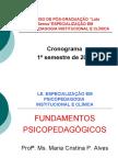 Aula PSICOPEDAGOGIA- Introdução DA PSICOPEDAGOGIA